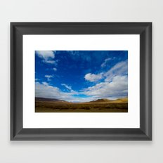 And, Oh, The Vast Beauty Of This World Framed Art Print