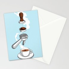 4 reasons why coffee is awesome Stationery Cards