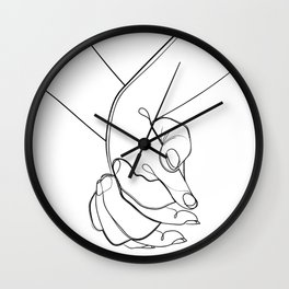 Holding on to you Wall Clock
