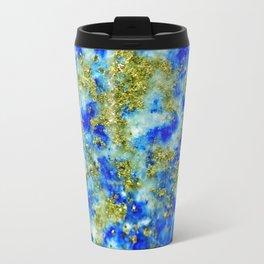 Lapis Lazuli Texture Travel Mug