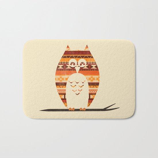 Native Owl Bath Mat