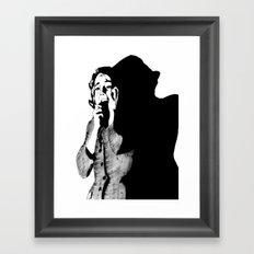 Lila Crane Framed Art Print
