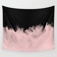 ying yang Wall Tapestries featuring Yang by cafelab