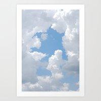 Cloud Scapes Art Print