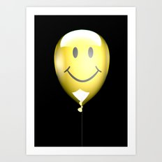 Acid Balloon Art Print