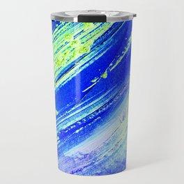 Acrylic Abstract on Canvas 7 Travel Mug