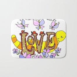 """""""Love"""" Bath Mat"""