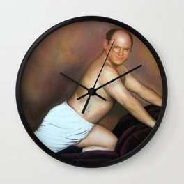 George Costanza Painting Wall Clock