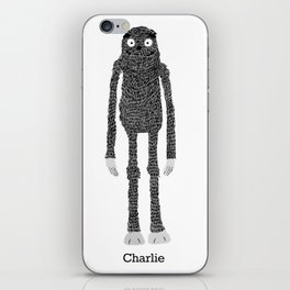 We Bare Bears Charlie iPhone Skin
