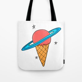 ice-cream star Tote Bag