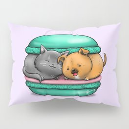 Macaron Cuddles Pillow Sham