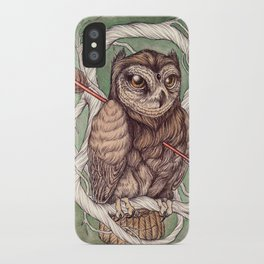 Wisdom Wounded by Folly iPhone Case