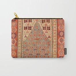 Antique Erzurum Turkish Kilim Rug Print Carry-All Pouch