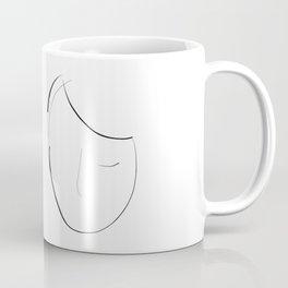"""""""She sleeps"""" Coffee Mug"""