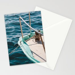 BOAT - WATER - SEA - PHOTOGRAPHY Stationery Cards