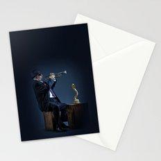 jazz snake charmer Stationery Cards