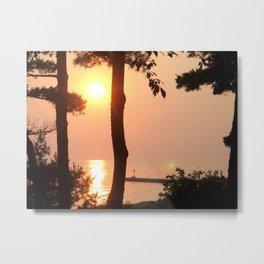 Sylvan Beach, MI Metal Print