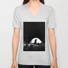 asc 455 - L'obscure clarté (The She-Wolf) Unisex V-Neck