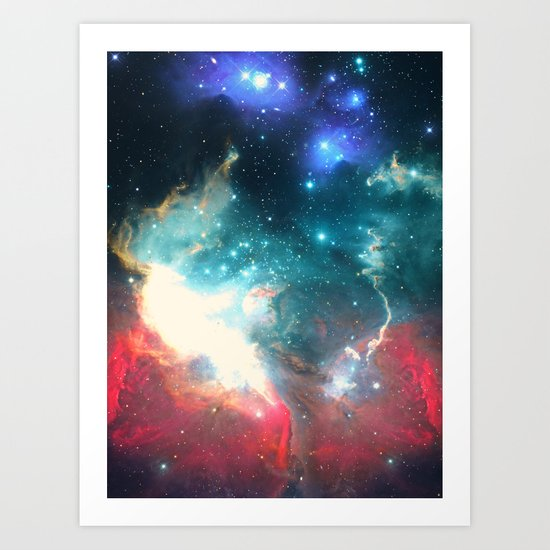 Echoes of the Stars Art Print