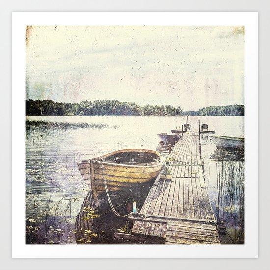 Boaty Art Print