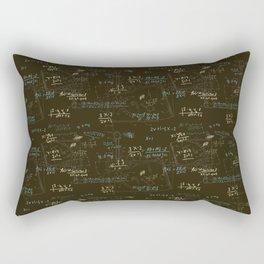 mathematical tension Rectangular Pillow