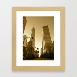 The Freedom Tower Framed Art Print