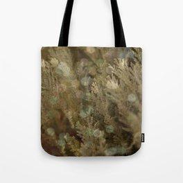 Pine and bokeh II Tote Bag