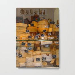 Cheese Lover Metal Print