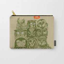 Wisdom to the Nines Carry-All Pouch