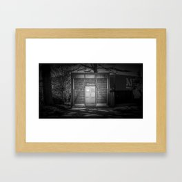 The Christchurch Electricity Substation Project VI Framed Art Print