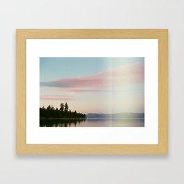 Story Book Sunset Framed Art Print