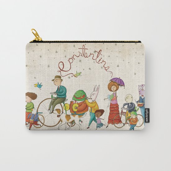 ¡Hola amigos! Carry-All Pouch