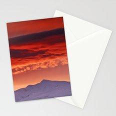 Veleta sunrise Stationery Cards