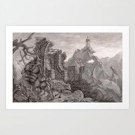 Tower 6 Art Print