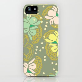 Juliette, gray iPhone Case