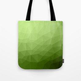 Greenery ombre gradient geometric mesh Tote Bag