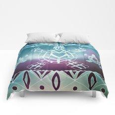 Tribal Sea Turtle Comforters