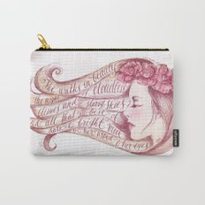 She Walks in Beauty Carry-All Pouch