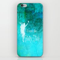 fairy tale iPhone & iPod Skins featuring Fairy Tale by Veronica Ventress