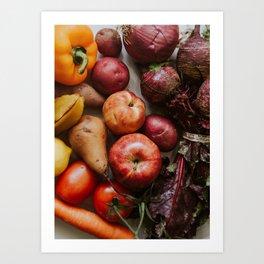 Fresh Reds Art Print