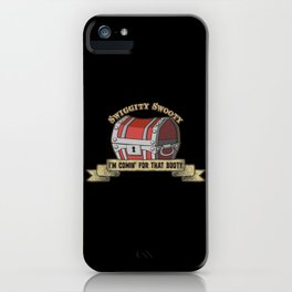 D&D - The Booty iPhone Case