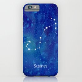 Constellation Scorpius iPhone Case