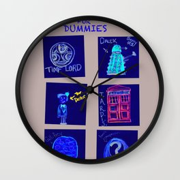 Doctor Who For Dummies!  Wall Clock