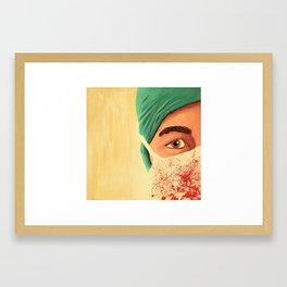 Surgery Framed Art Print