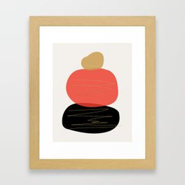 Modern minimal forms 2 Framed Art Print
