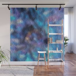 Frosted Geode Glass Wall Mural