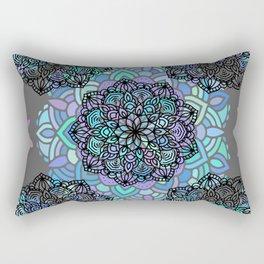 Mandalas on top Rectangular Pillow