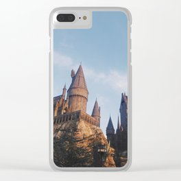 I solemnly swear Clear iPhone Case