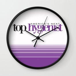 America's Next Top Hygienist Wall Clock