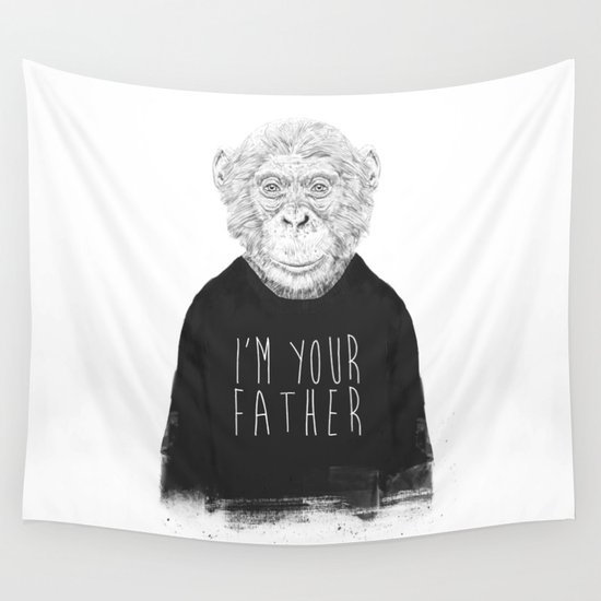 I'm your father Wall Tapestry